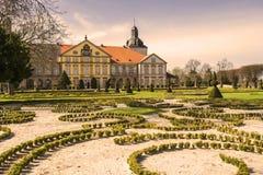 城堡在Hundisburg,德国 免版税图库摄影