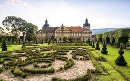 城堡在Hundisburg,德国 免版税库存图片