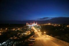 城堡在Kamianets Podilskyi 免版税图库摄影