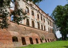 城堡在Krupe 库存图片