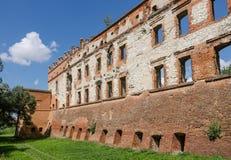 城堡在Krupe 免版税图库摄影