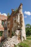 城堡在Krupe 库存照片