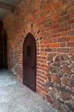 城堡在Nidzica 免版税库存照片
