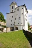 城堡在Passau 免版税库存照片