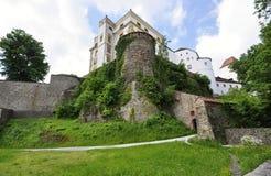城堡在Passau 免版税库存图片