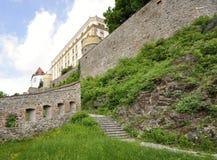 城堡在Passau 库存图片