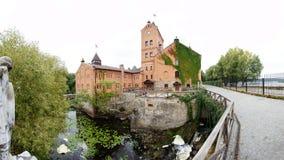 城堡在Radomyshl,乌克兰 免版税库存图片