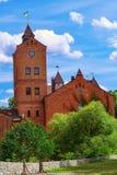 城堡在Radomyshl 图库摄影