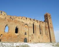 城堡在Radzyn Chelminski 免版税库存图片