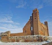城堡在Radzyn Chelminski 免版税库存照片