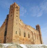 城堡在Radzyn Chelminski 免版税图库摄影