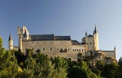 城堡城堡segovia西班牙 图库摄影