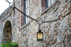 城堡城镇Herzberg,德国,黑森。 免版税库存图片