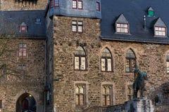 城堡城镇solingen德国 库存图片
