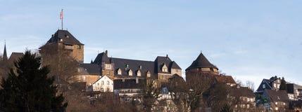 城堡城镇solingen德国 库存照片