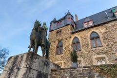 城堡城镇solingen德国 图库摄影