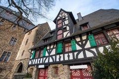 城堡城镇solingen德国 免版税库存图片