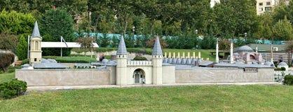 城堡堡垒在伊斯坦布尔 免版税库存照片