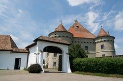 城堡堡垒波罗地Jidvei 免版税库存照片