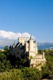 城堡堡垒segovia 免版税库存图片