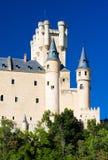 城堡堡垒segovia 免版税库存照片