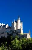 城堡堡垒segovia 图库摄影