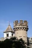 城堡塔楼 免版税库存照片