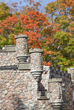 城堡塔楼 库存照片