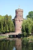 城堡塔楼 免版税图库摄影