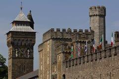 城堡塔 图库摄影