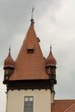 城堡塔Hagenberg -奥地利 免版税库存图片