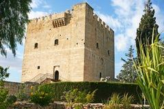 城堡塞浦路斯kolossi 库存图片