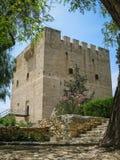 城堡塞浦路斯kolossi 免版税图库摄影