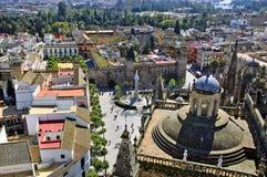 城堡塞维利亚 免版税库存照片