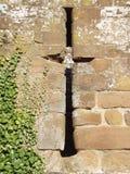 城堡墙壁 库存照片