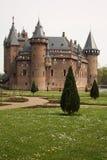 城堡外部和地面 库存图片
