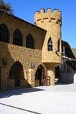 城堡外部有历史 免版税图库摄影
