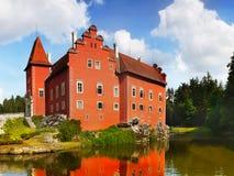 城堡大别墅捷克 库存照片