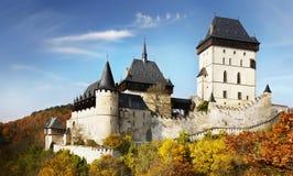 城堡大别墅捷克 免版税库存图片