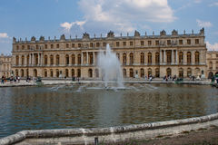 城堡大别墅de凡尔赛 免版税图库摄影