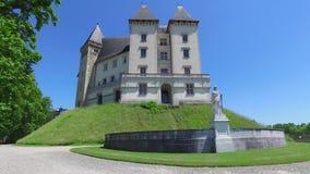 城堡大别墅de波城 影视素材