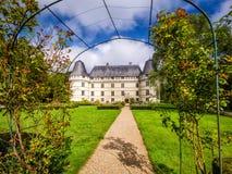 城堡大别墅de l ` Islette,法国 免版税库存图片