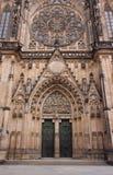 城堡大教堂布拉格 库存图片