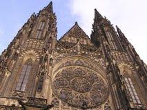 城堡大教堂monuments1布拉格 库存照片