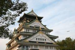 城堡大阪 库存图片