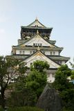城堡大阪 免版税库存照片