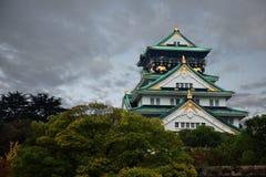 城堡大阪 库存照片