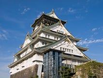 城堡大阪 免版税库存图片
