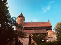 城堡奥尔什丁波兰 库存照片