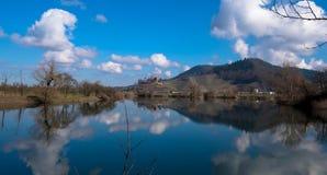 城堡奥尔滕堡在德国 库存图片